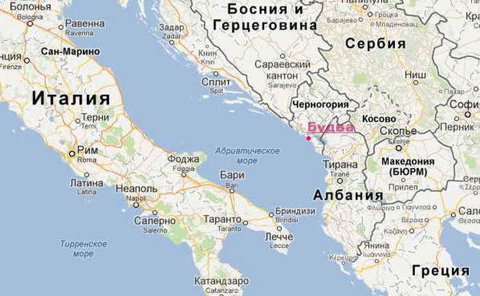 город будва черногория фото