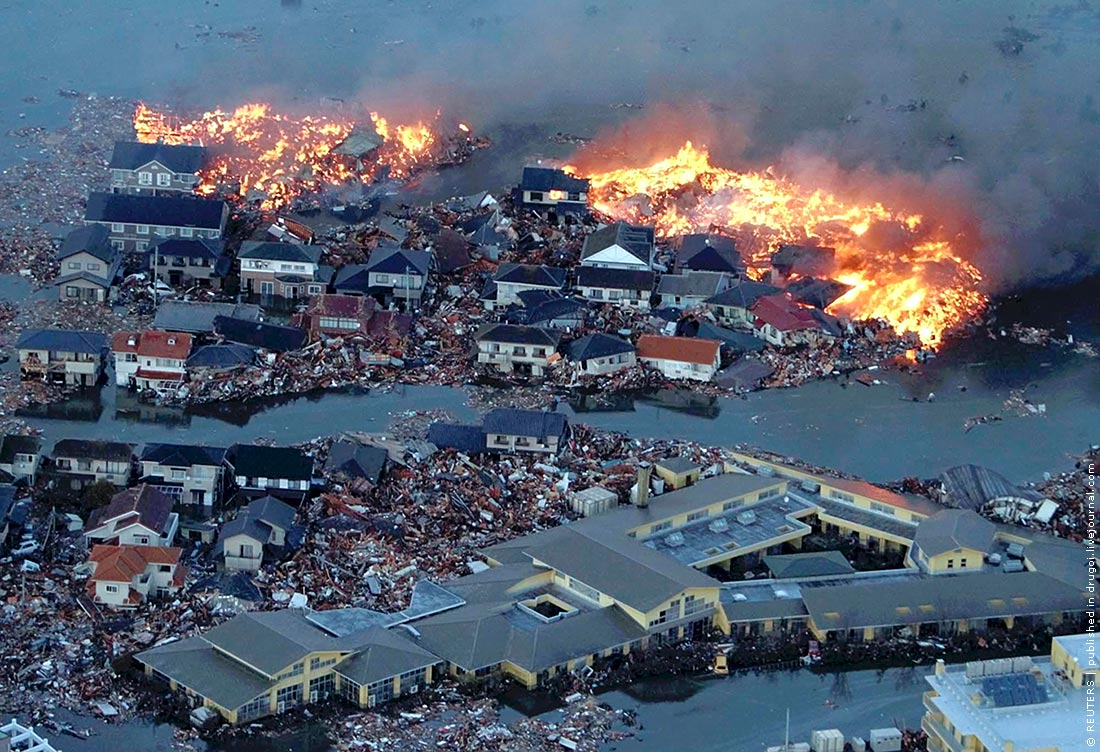 Землетрясение в японии доклад 3202