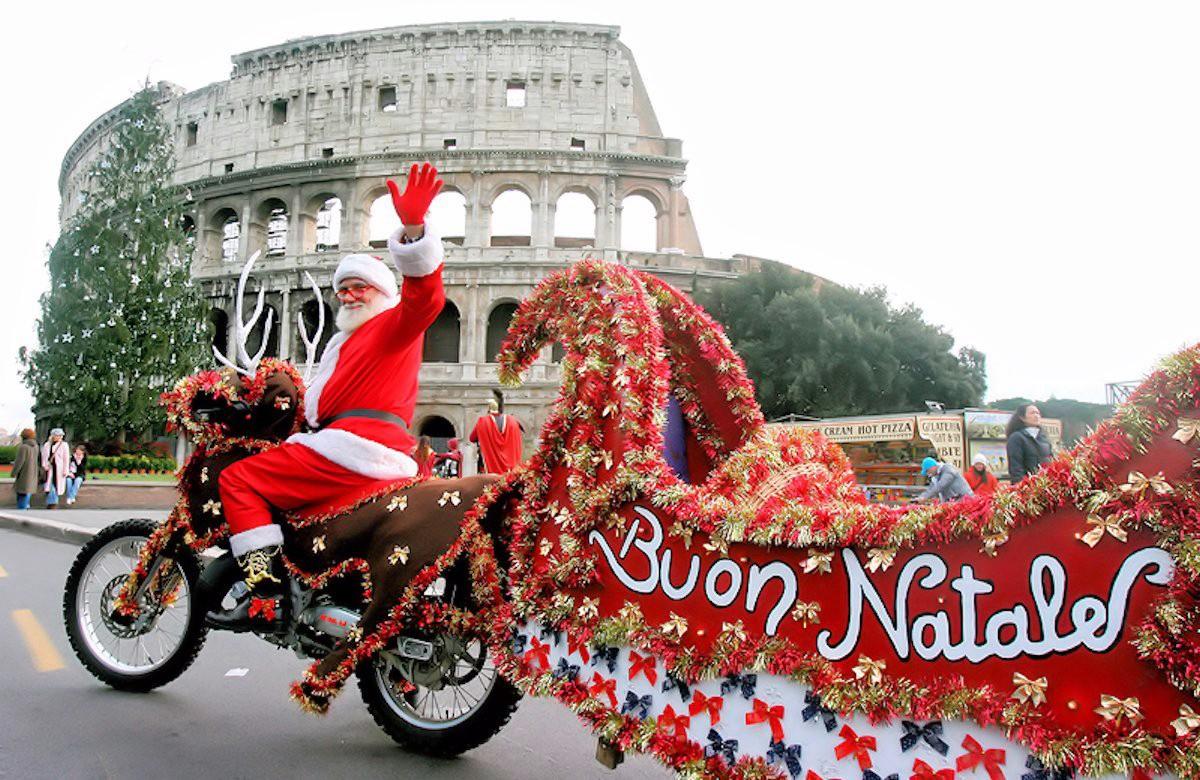Как отдыхают итальянцы в новый год