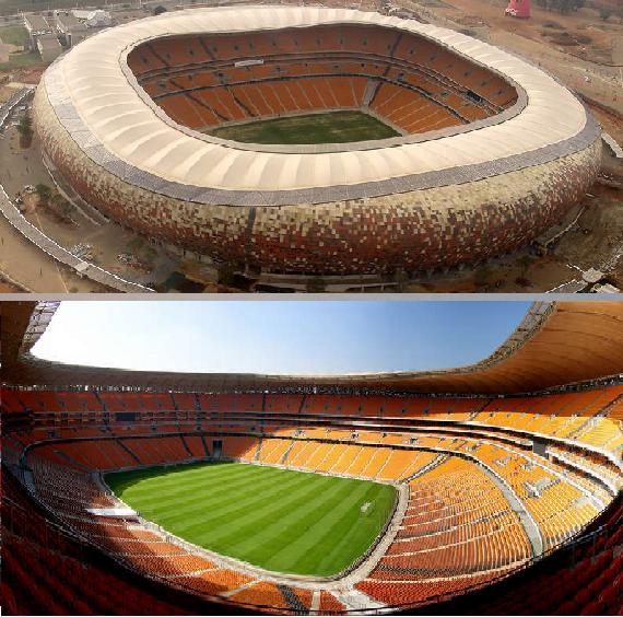 самые большие стадионы мира по футболу для